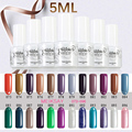Nail Supply 5ml UV Gel Nail Polish UV Gel Color Fashion Gel Polish Beauty Soak Off Gelpolish Manicure Decoration Nail Salon