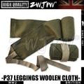 WW2 UK ARMY EQUIPMENT P37 Woolen Leggings High quality REPLICA ARMY GREEN ZWJP
