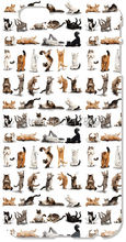 Funny Yoga Cats Mobile Cell Phone Case Plastic Hard Cover For iphone 4 4S 5 5S SE 5C 6 6S Plus For iPod Touch 4 5 6 Cases