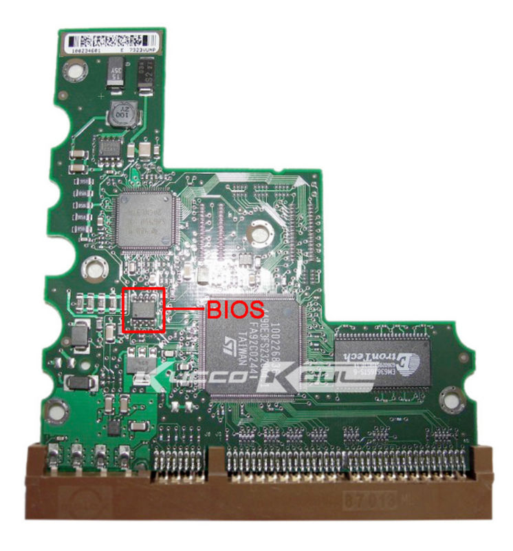 hard drive parts PCB logic board printed circuit board 100234697 for Seagate 3.5 IDE/PATA hdd data recovery hard drive repair