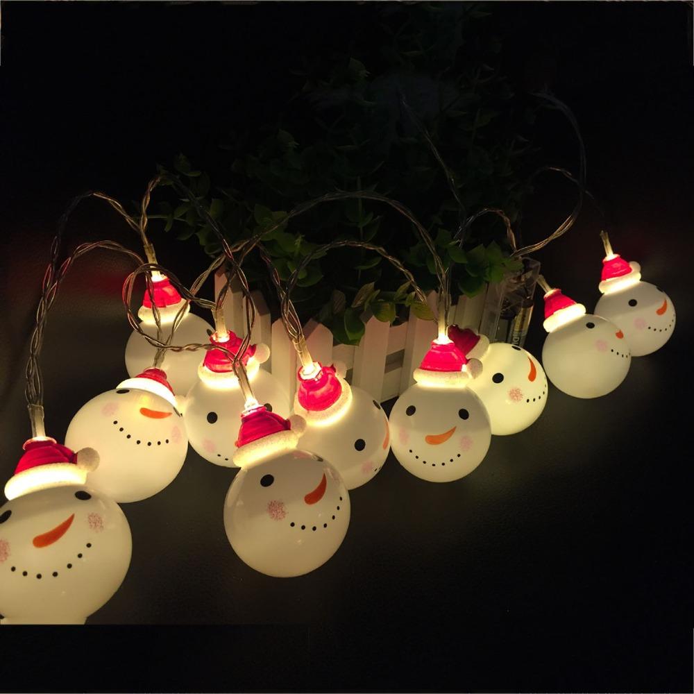 E-SMARTER LED Christmas Decoration 1.8m String Linked Led Light - Vakantie verlichting - Foto 4