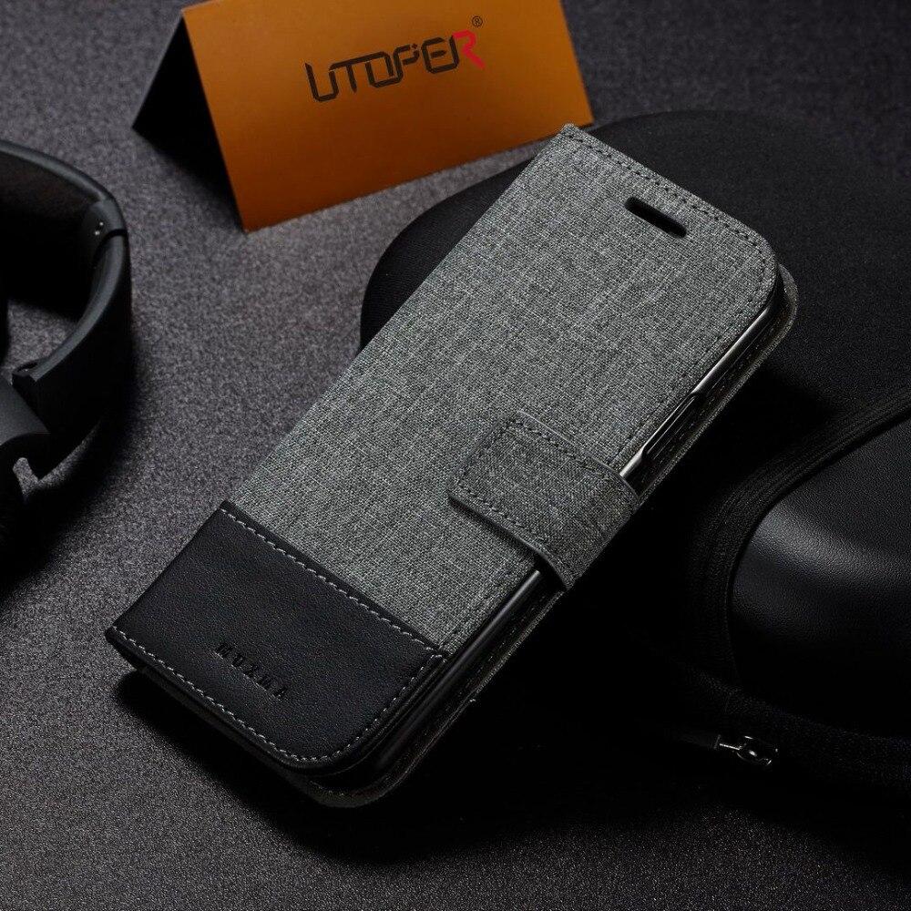 UTOPER Бизнес бумажник чехол для iphone SE Case флип-чехол для iphone X чехол для iphone XS Max Coque для iphone 6 5S 7 8 плюс XR