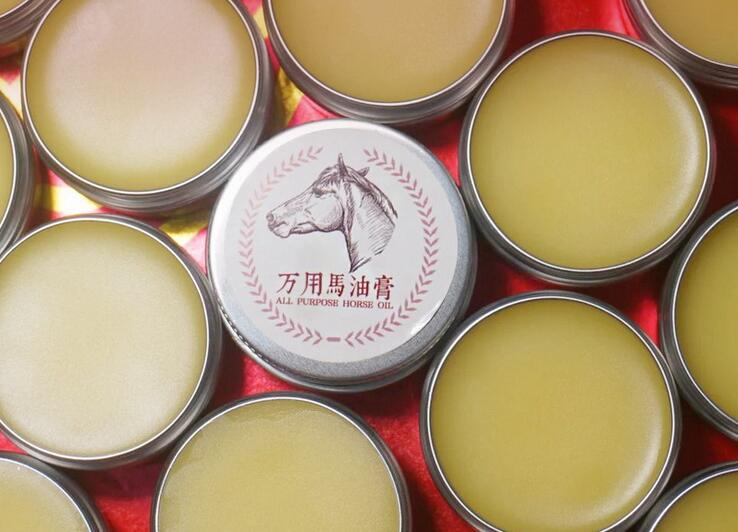 Horse ointment anti cracking freckle removing lines of pregnant women Babies available moisture anti acne all purpose Horse oil