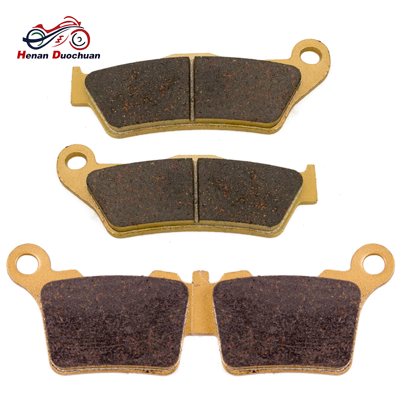 Motorcycle Front And Rear Brake Pads For KTM EXC-F 250 350 EXC-R 450 EXC 400 450 525 2004-2007 / EXC 500 2012-2016#c