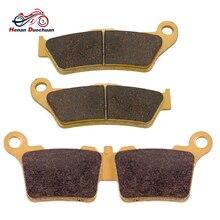 Мотоциклетные передние и задние тормозные колодки для KTM EXC-F 250 350 EXC-R 450 EXC 400 450 525 2004-2007/EXC 500 2012-# c