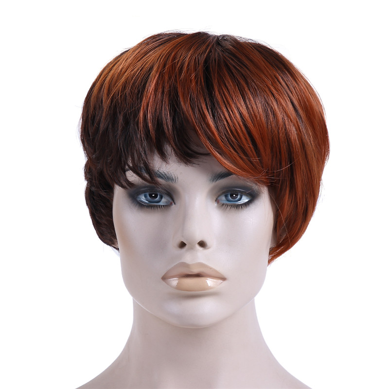 Prime Aliexpress Com Buy 1Pc Natural Wig African American Short Hairstyles For Women Draintrainus