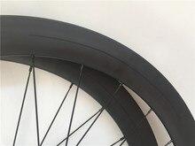 Deercycles прямо тянуть 700c 38 мм 50 мм 60 мм Углеродные колеса колесная покрышка трубчатые Дорожный велосипедные диски из карбона дисковый тормоз дорожное колесо
