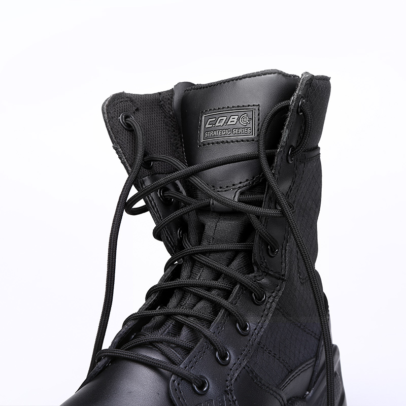 CQB Tactical High Cylinder Hiking Shoes Ерлер Сыртқы - Кроссовкалар - фото 5