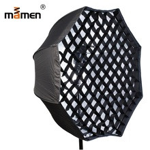 Mamen PS-U95A Soft Box Umbrella Softbox 95cm Raster Reflector Flash Diffuser Softbox Photography Lighting Raster