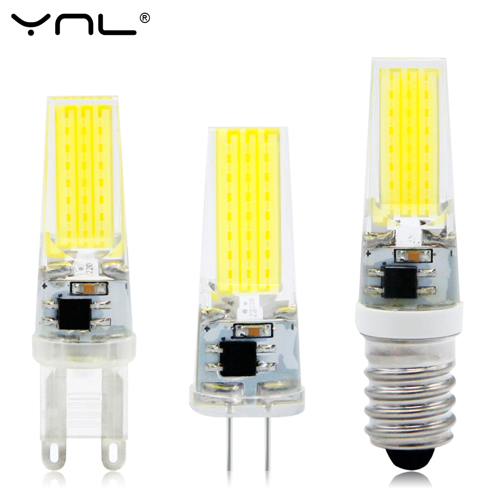 G4 G9 LED Lamp E14 COB 3W 6W 9W Lampada LED Bulb AC DC 12V 220V Bombillas LED G4 G9 E14 COB Replace Halogen Chandelier G4 Lamps перфоратор кратон rhe 450 12 3 07 01 022