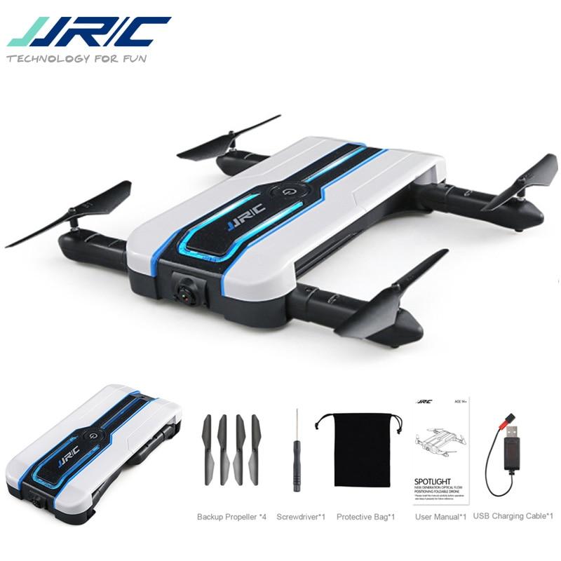 JJRC H61 Projecteur WIFI FPV Selfie Drone Avec 720 p Caméra Optique Flux Positionnement 6-Axe Pliable RC Quadcopter VS E57 E56