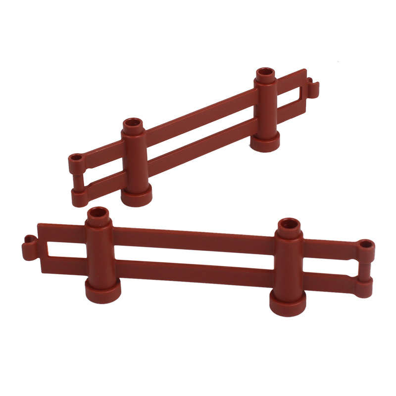 DIY Building Block Accessories Compatible With Legoingly Camera Duploed  Fire Suitcase Fence Torch Tables Bulk Parts Toys For Children  (25)