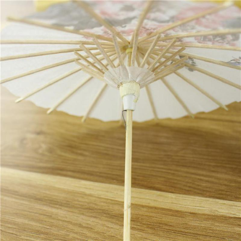 25 5cm Large Japanese kimono girl Umbrella Creative Figurines Miniature Figurines Home Decor for Girl Student Gift Resin Crafts in Figurines Miniatures from Home Garden