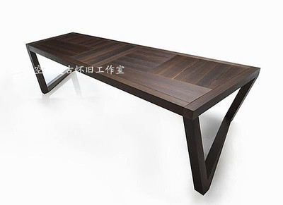 Nordic Scandinavian Original Wooden Table Dining Ikea Loft Desk Work Tables Wood Conference In Nail From Furniture On