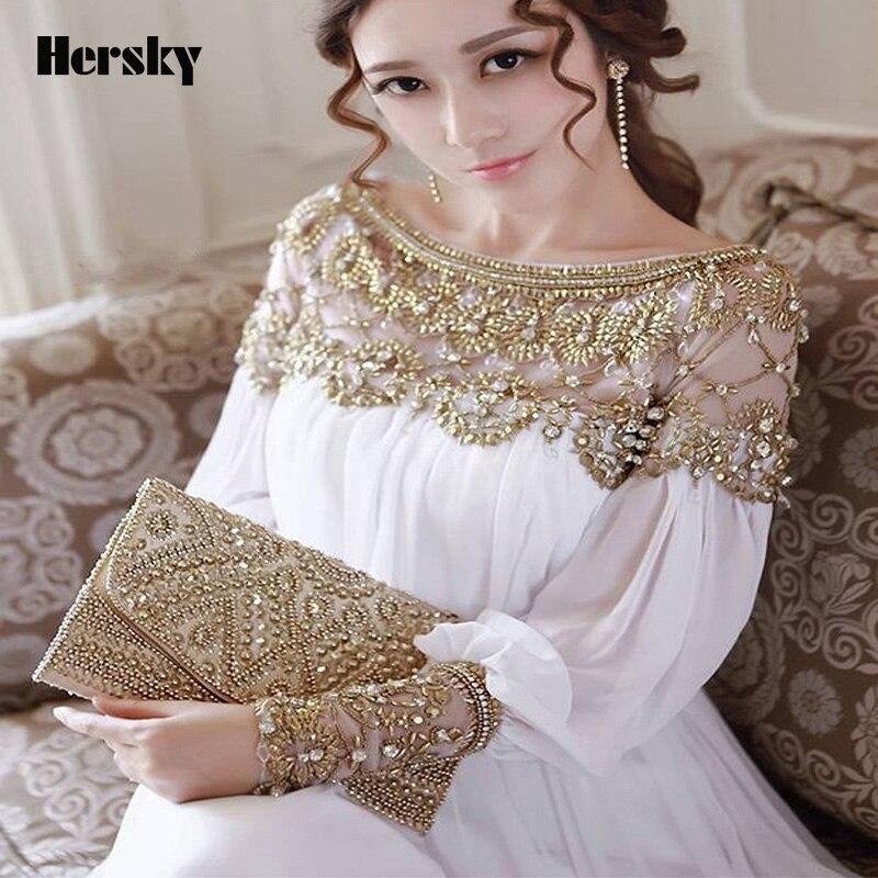 2018 Baru Muslim Abaya pakaian wanita Turki pakaian Heavy beaded - Pakaian kebangsaan - Foto 3