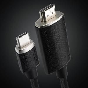 Image 5 - ALLOYSEED 2 m USB C نوع C إلى HDMI 4 K مهائي كابلات نوع C HDMI تمديد كابل لجهاز ماكبوك برو هواوي زميله 20 سامسونج S10 S9 S8