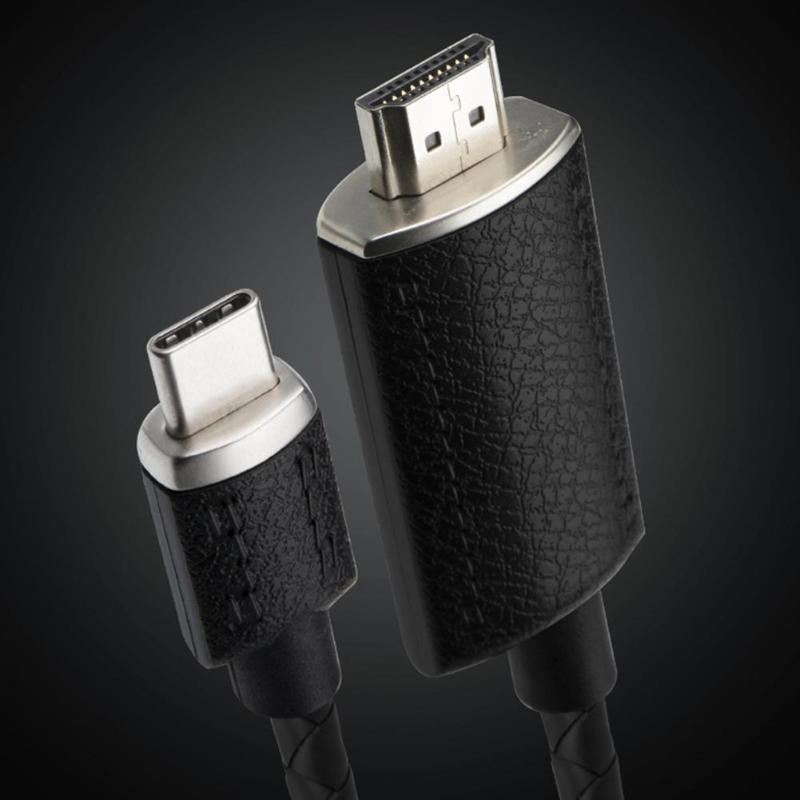 Image 5 - ALLOYSEED 2m USB C Type C to HDMI 4K Cable Adapter Type C HDMI Extension Cable For MacBook Pro Huawei Mate 20 Samsung S10 S9 S8-in HDMI Cables from Consumer Electronics