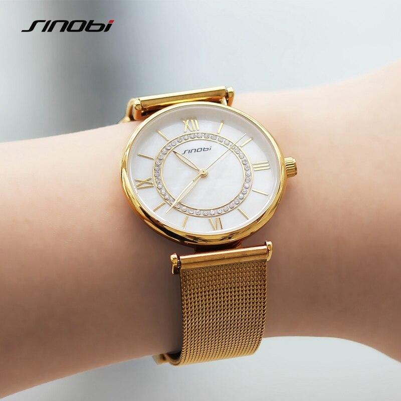 SINOBI Βραχιόλι από χρυσό Γυναικεία - Γυναικεία ρολόγια - Φωτογραφία 6