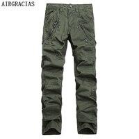 AIRGRACIAS Multi Pocket Men S Military Cargo Pants Loose Style Men Pants Tactical Casual Long Trousers