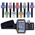 Waterproof Gym Sports Running Armband Arm Band Pouch Phone Case Cover with Key Holder for iPhone 5 5S 5C 5G 4 4S iPod Touch