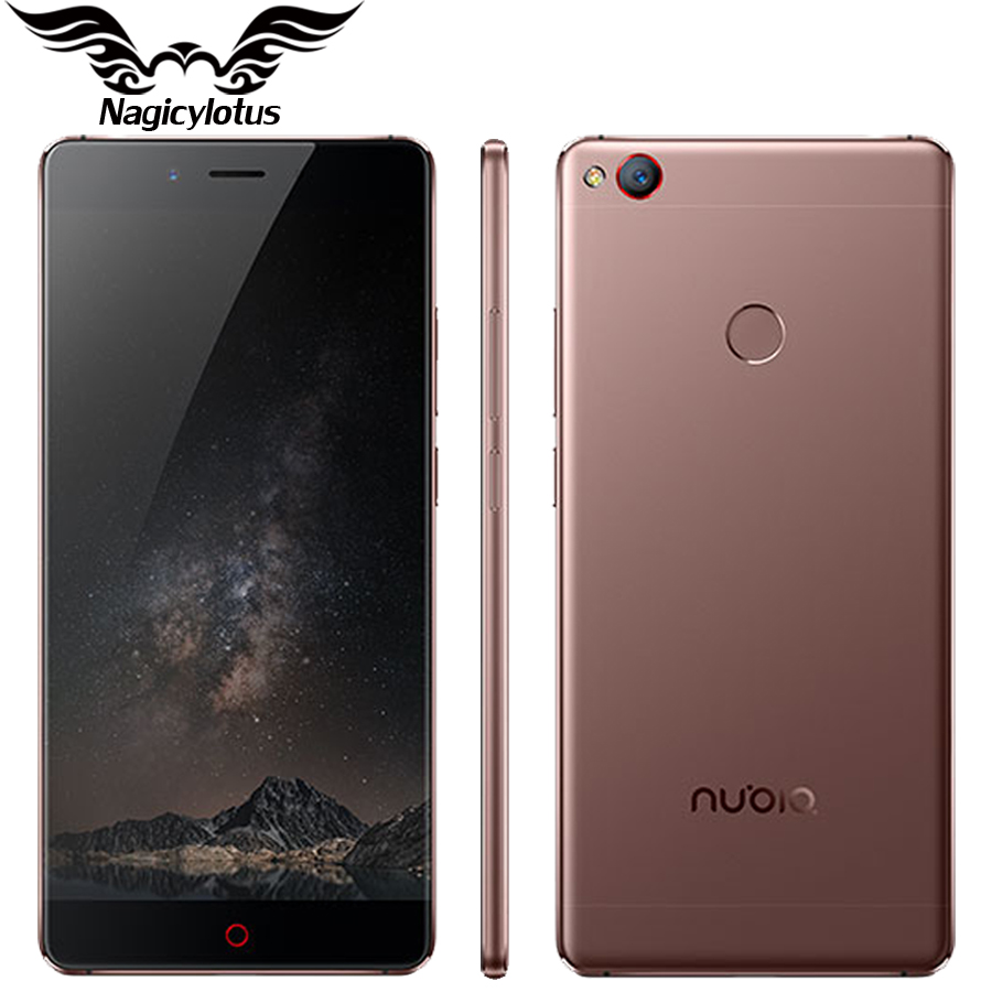 Original ZTE Nubia Z11 4G LTE Mobile Phone 6GB RAM 128GB ROM 5.5″ Borderless Snapdragon 820 Quad Core 16.0MP Fingerprint NFC