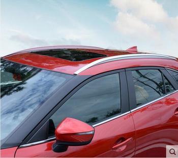 JINGHANG ABS แร็คหลังคารถสัมภาระกระเป๋าเดินทางบาร์สำหรับ Mazda CX-4 CX-4 2016 2017 2018