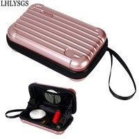 LHLYSGS Brand New Arrival Waterproof Cosmetic Box Bag Women Travel Carry Portable Beauty Toiletry Fashion Makeup