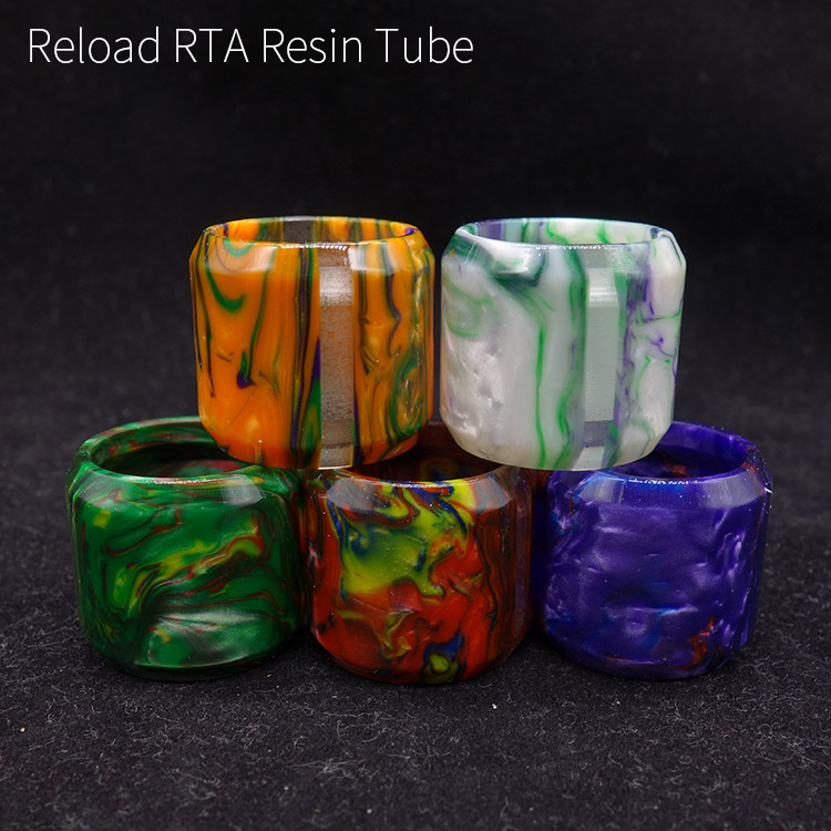 1pc Resin replacement tube for reload rta 24mm atomizer tank only tube jolidon женщинам