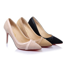 19 new sexy simple fashion high heels spring summer fine with the banquet work wild women's shoes hot sales casual singles shoes the new pointed shallow mouth women s singles shoes with high heels in the wild with fashion casual shoes dfgd 15