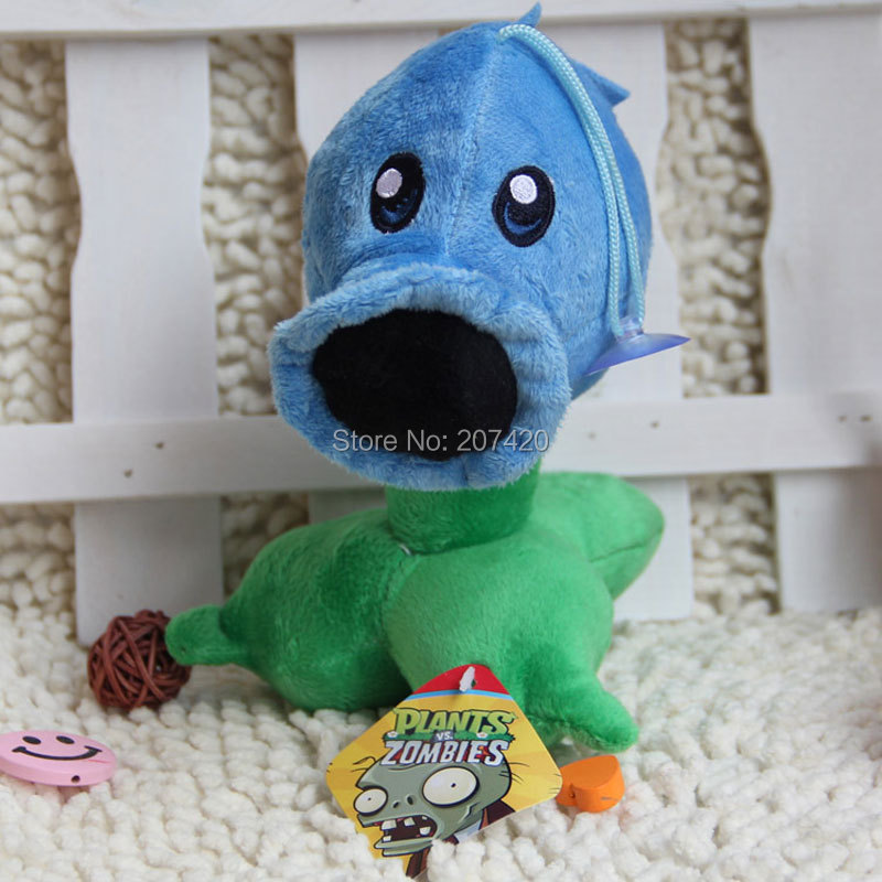 6.7inch Cute Plant Vs Zombies Series Plant Ice Peashooter Plush Toy Doll,1pcs/pack ...