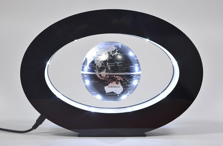 2017 rushed new novelty decoration magnetic levitation floating 2017 rushed new novelty decoration magnetic levitation floating globe world map with led with electro magnet and field sensor in led night lights from gumiabroncs Gallery