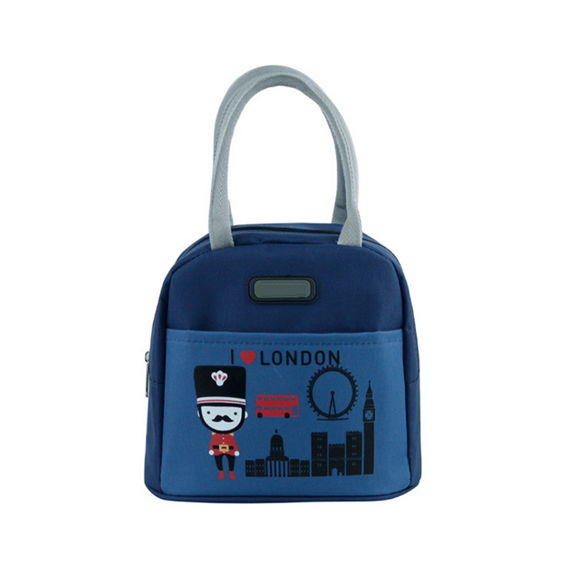 New Portable Cartoon Cute Animals Lunch Bag Picnic Totes Carry Case Thermal Insulated Bags For Kids Women Students B2Csh