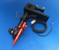 CO2 Laser Head + Automatic Focusing Focus Focal Sensor Integrative Mounts Set for Laser Engraving and Cutting Machine