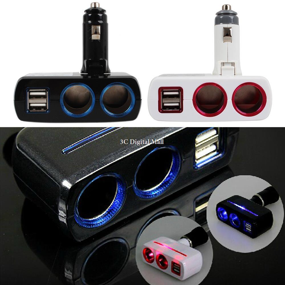 AuMoHall 12V-24V Siqaret yüngül Adapter USB Avtomobil Şarj - Avtomobil elektronikası - Fotoqrafiya 5