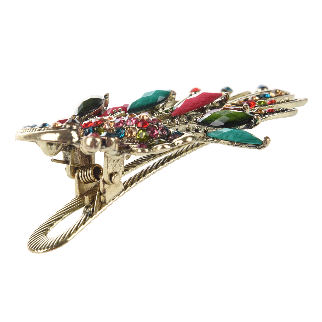 Lovely Vintage Crystal Peacock Hair Clips Hairpins C- for hair clip Beauty Tools ...