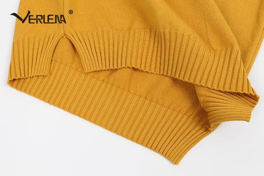 Sweaters Efficient Block Color Stripes Letter Stars Pattern Red Jumper Sweater Women Dollar Symbol $ Streetwear Loose Long Pullover Verlena 2019