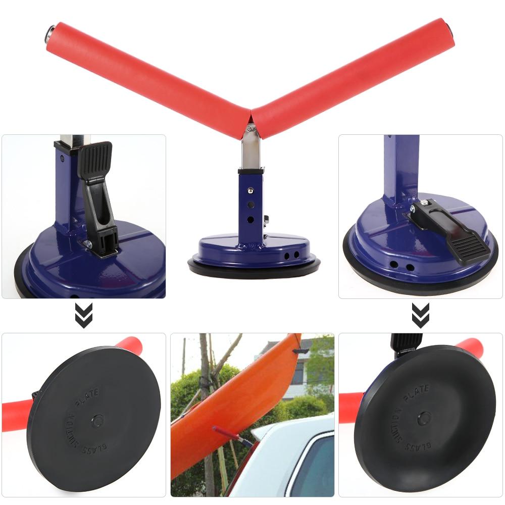 Detachable Kayak Rack Holder Kayak Accessories Height Adjustable Kayak Canoe Surfboard Mount Carrier Support Cradle