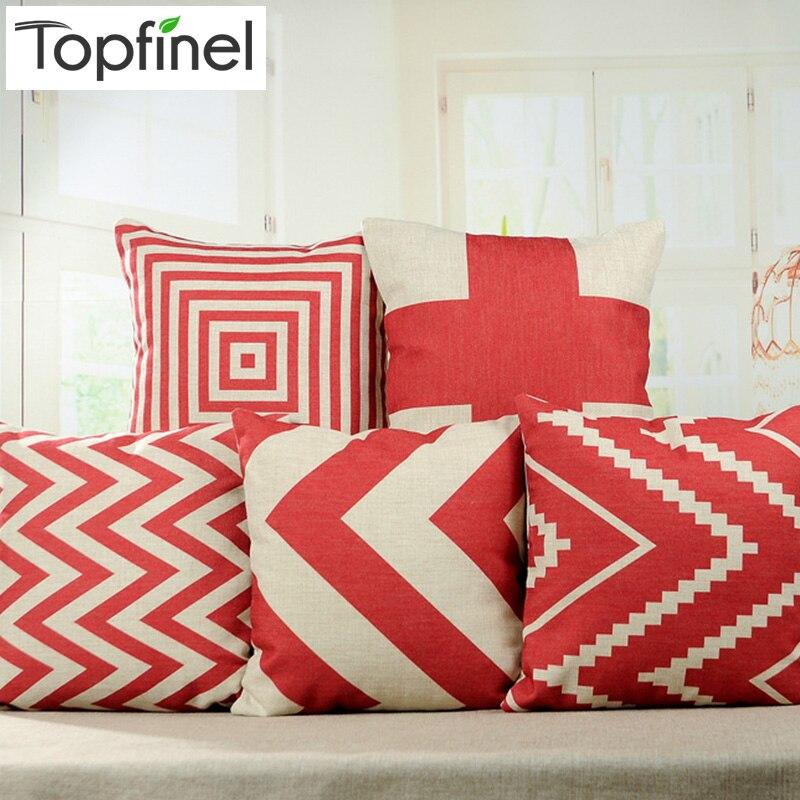 achetez en gros rouge canap oreillers en ligne des grossistes rouge canap oreillers chinois. Black Bedroom Furniture Sets. Home Design Ideas
