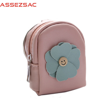 Assez sac wallet mini girls wallet women organizer wallets lady lovely flower zipper children purses mini girls like bag A6861/j