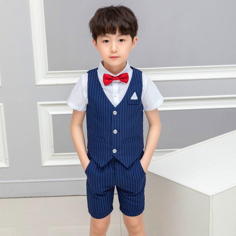 2019 summer children 39 s suits children suit boy suit Cotton toddler clothes Boys clothing fashion Short boys clothing ALI 285 in Clothing Sets from Mother amp Kids