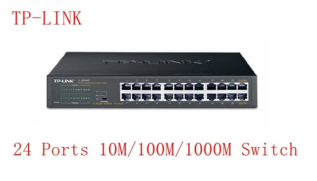 US $173 0 |TP LINK 24 Ports 10M/100M1000Mbps Switch For 16CH/24CH NVR and  CCTV IP Cameras-in CCTV Accessories from Security & Protection on