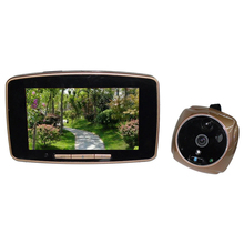 5.0 Inch Intelligent GSM Door Peephole Viewer 2MP HD Touch Screen Digital Infrared PIR Monitor Night Vision Security Door Bell