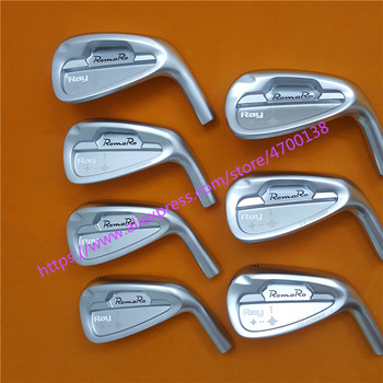 7PCS Romaro Ray irons Set Golf Forged Irons Golf Clubs 4-9P R/S Flex Steel/Graphite Shaft With Head Cover