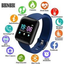 2019 cyfrowe zegarki męskie lub damskie inteligentny zegarek ciśnienie krwi wodoodporny pulsometr tracker do monitorowania aktywności fizycznej Sport zegarek do fitness
