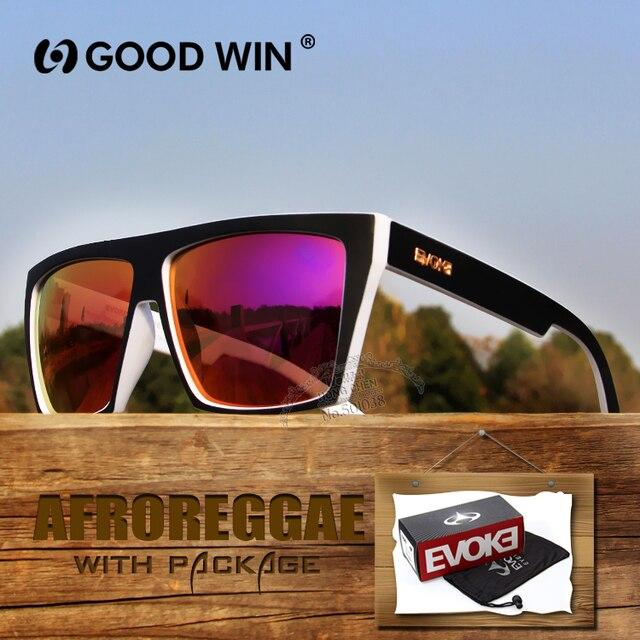 c1c60585b Homens livres do transporte óculos de Sol óculo Evoke Afroreggae Marca  Revestimento Sunglass gafas de sol