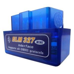 Image 4 - Super Mini Elm327 Bluetooth OBD2 V1.5 Elm 327 V 1.5 OBD 2 Auto Diagnostic Scanner For Car Elm 327 OBDII Code Diagnostic Tools