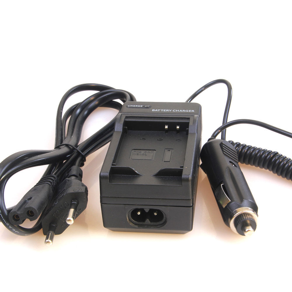 Battery Charger & Car Adapter NB-6L For Canon PowerShot SX510 HS SX530 HS SX540 HS S120 SX170 IS SX500 IS