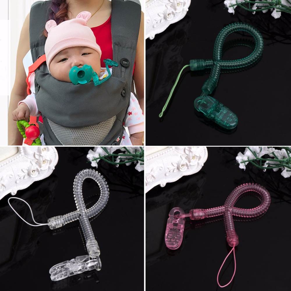 1PC Baby Kids Boy Girl Chain Clip Holders Dummy Pacifier Soother Nipple Leash Strap #330
