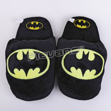 Superhero Batman Superman Deadpool Spiderman Plush Shoes Home House Win