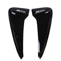 2Pcs For BMW X Series X5 F15 X5M F85 Shark Gills Side Vent Stickers ABS Car